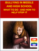 """This lesson plan covers all aspects of bullying in Middle and High school. Great emphasis is placed on what bullying is, why it happens and what students can do to protect themselves. Lesson plan, true story of a """"High School Bullying incident.""""  Group activity, writing and art activity. Optional map activity of unsafe places on campus. clip art, printables, no prep needed. Learning outcomes: Students will be able to recognize what bullying is Students will be able to understand why bullying might be happening to them Students will recognize that you cannot talk sense to a bully Students will be able to understand the importance of believing you are stronger than they are Students will be able to identify working their way around bullies Students will understand they should avoid insulting at he bully, especially if bully has history of violence Students will comprehend the importance of telling your school counselor, teacher or parents that you are being bullied Students will be able to recognize the type of bully they are dealing with Students will be able to understand cyber bullying Students will be able to recognize the importance of helping others through their situation Students will be able to list solutions to being bullied Store: Health is Elementary"""