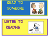 Peanuts Themed Daily 5 Headers