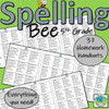 5th Grade Spelling Bee - Everything You Need! (Y6 UK)