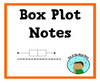 Box Plot Notes