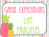 Great Expectations  Classroom Culture Resources (pineapple theme)