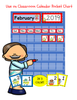 ALL YEAR CALENDAR SET AND LEARNING CENTER