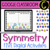 Distance Learning Symmetry Geometry Digital Google Classroom Activities