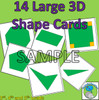 2D Shape Posters - 28 Large Posters, Shapes and Descriptions