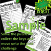 Kaboom! or Bust - ESCAPE ROOM - Science - Chemical and Physical Changes in Materials