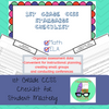 CCSS 1st Grade Standards Checklist for Student Mastery