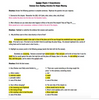 Hatchet Common Core Comprehension Questions with Vocabulary!