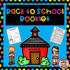 "Welcome your students back to school with this cute ""back to school"" booklet. This product includes:  *all about me page  *my school page  *my family page  *summer vacation writing page  *funny moment writing page  *2 writing pages about what they want to learn this school year  *classmates page  *scavenger hunt  *ABC's of school"