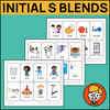 Initial S Blends Playing Cards