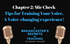 Chapter 2 Preview: An exercise for examining your voice, and improving the dynamics and motivation of your speaking