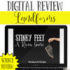 Landforms Review Game - Digital Stinky Feet