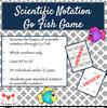 Scientific Notation Go Fish