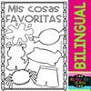 Back to School - My Kinder Activities - Bilingual Worksheets #Set 1