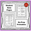 Comprehension Levels Guided Notes Resource Freebie!!!