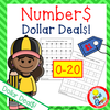 0-20 Number Writing Practice  Dollar Deal$