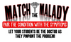 Match the Malady- Pair the Disease with the Symptoms! Distance Learning Option!