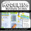 Modeling Multiplying Decimals Notes: Base Ten Blocks