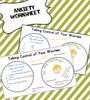 Taking Control of My Worries Worksheet