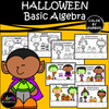 HALLOWEEN Basic Algebra BUNDLE!!