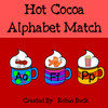 Hot Cocoa Alphabet Match