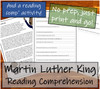 Martin Luther King  - 5th & 6th Grade Close Read & Biography Writing Bundle