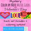 Music with Mrs. Hagemann Mystery Valentine Music Grids