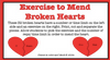 Mend Broken Hearts with Exercise
