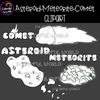 Asteroid-Meteorite-Comet clipart