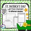 St. Patrick's Day Writing Papers - 10 Designs