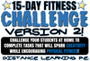 15 Day Fitness Challenge #2- Great for PE Distance Learning