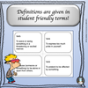 Power Words! Vocabulary Building Flashcards and Word Wall Set 1