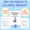 Surviving a Colony PBL