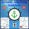 Jamestown Song Parody SketchNotes