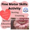 Mother's Day Fine Motor Skills Activity