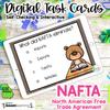 NAFTA DIGITAL Task Cards | DISTANCE LEARNING | SS6E2d