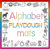 Alphabet Playdough Mats- FREE