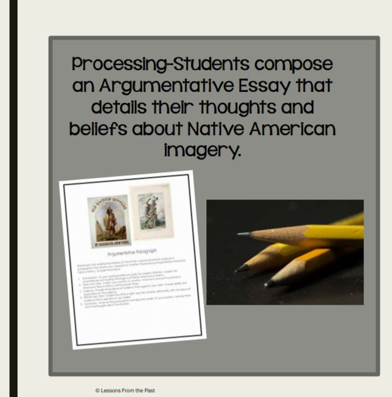 Imagery of Native Americans-Who Determined How Native Americans Are Viewed?