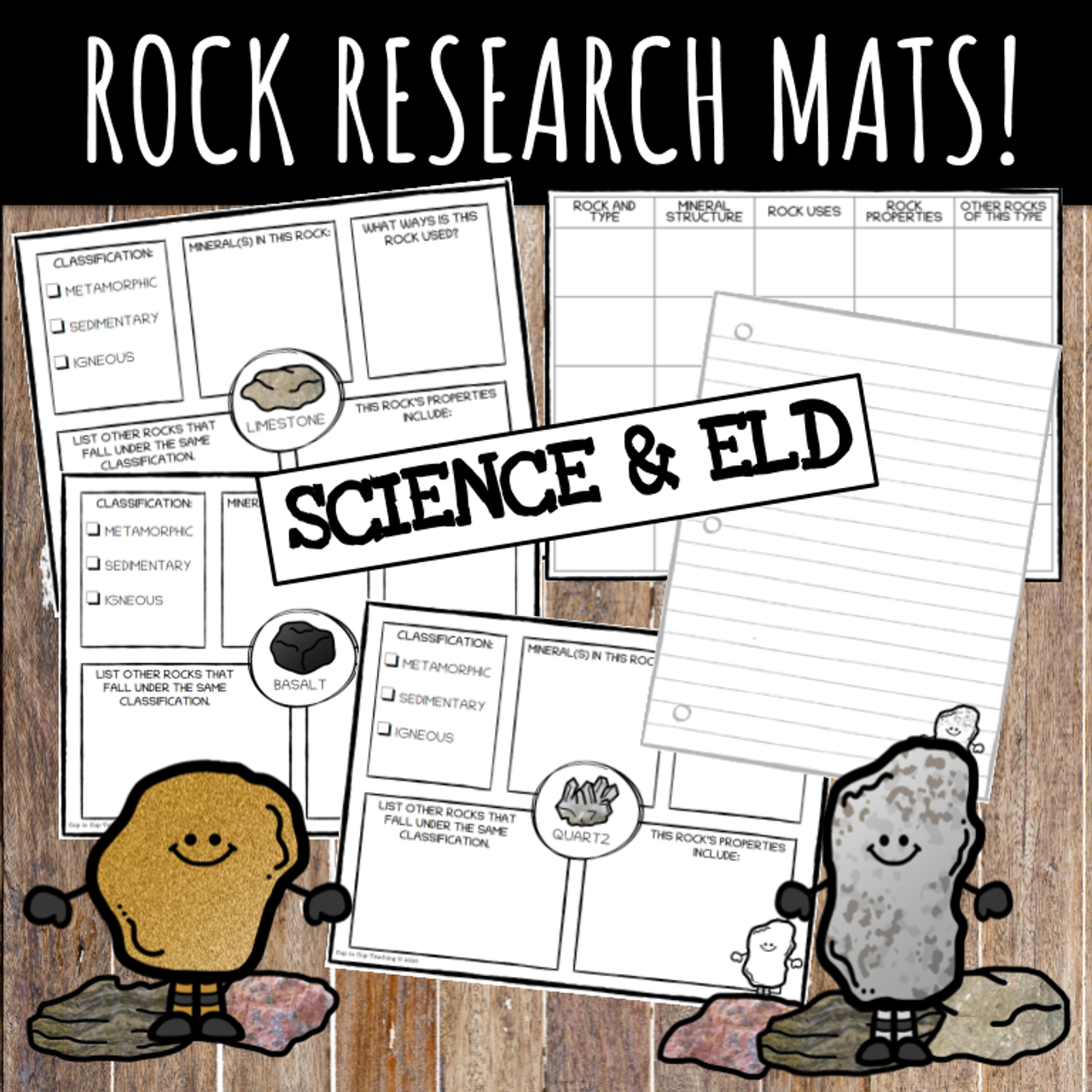Rock Share and Research Activity