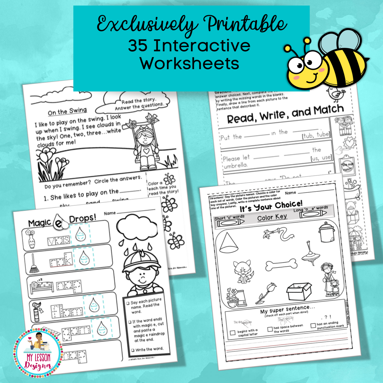 Exclusively Printable-Spring Literacy Home Learning Packet|Distance Learning