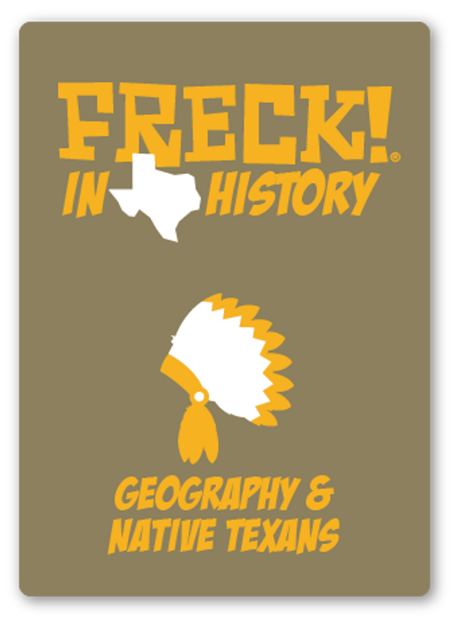 NEW! FRECK! in TX History | 550 cards | MS/JH (7th) | Geography through Modern