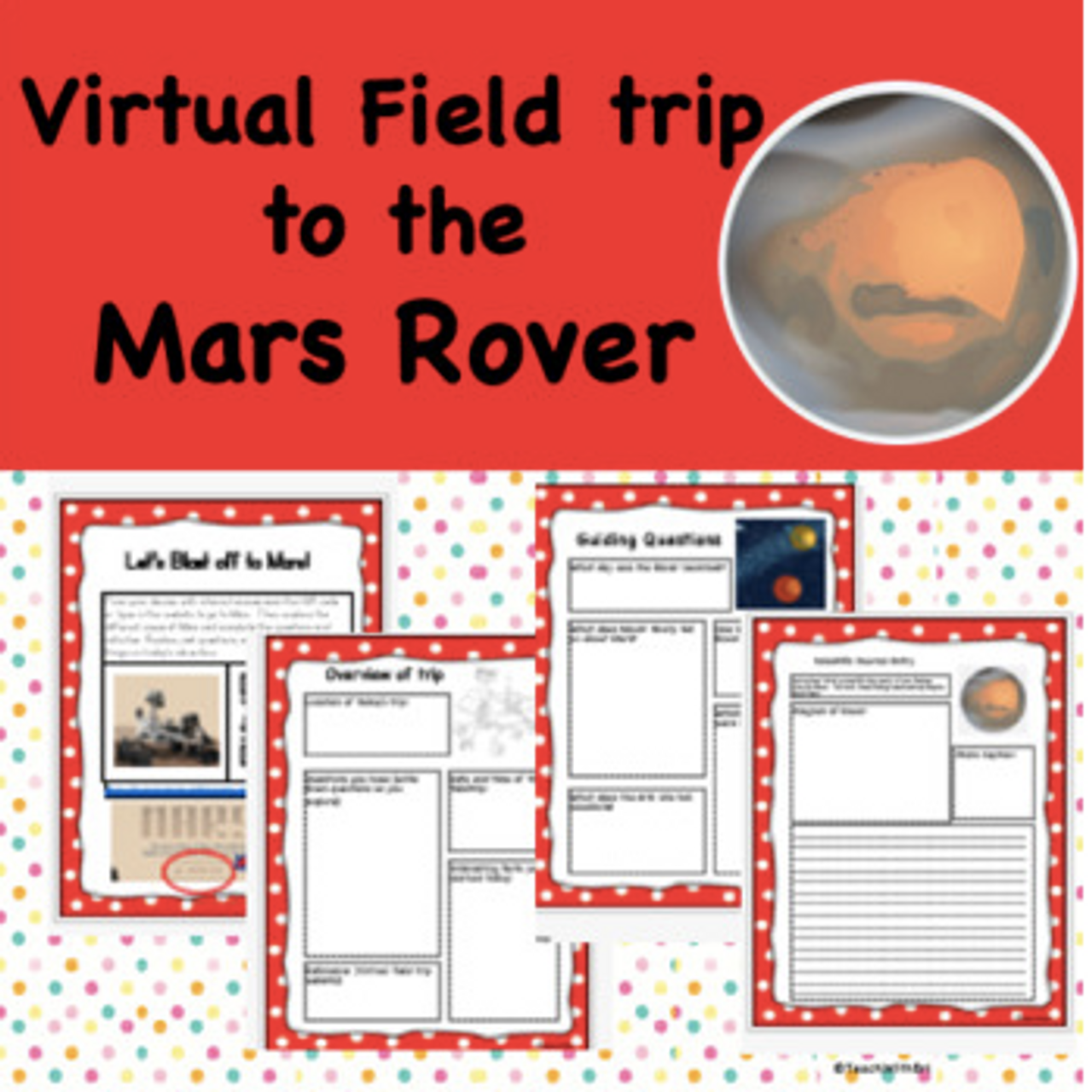 Virtual Field Trip to the Mars Rover