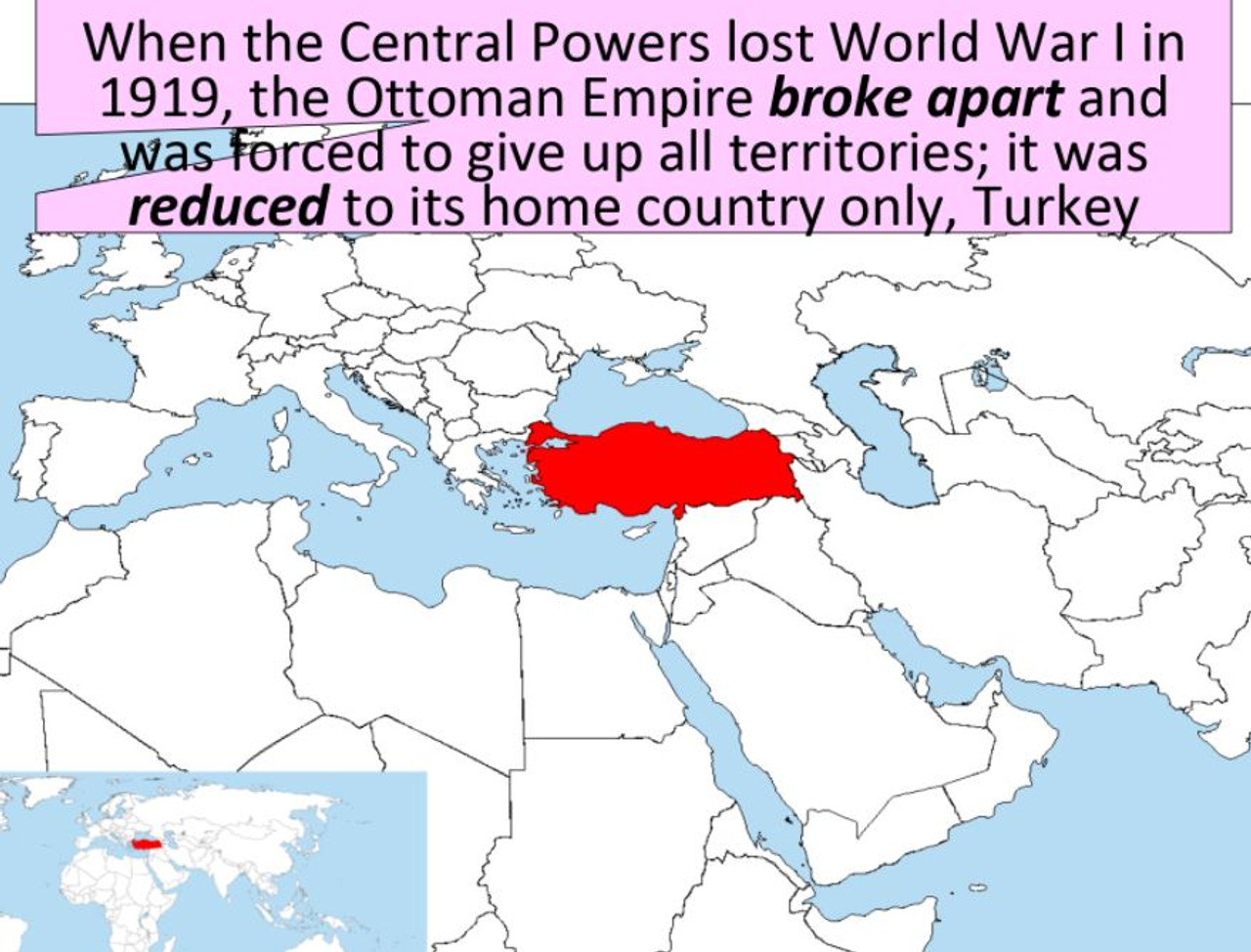 20th Century Middle East and Terrorism