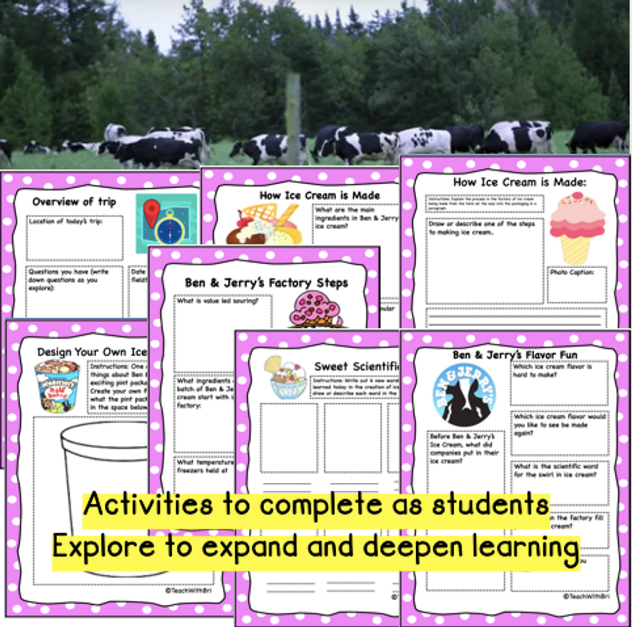 Google Version- Virtual Field Trip to the Ben & Jerry's Ice Cream Factory
