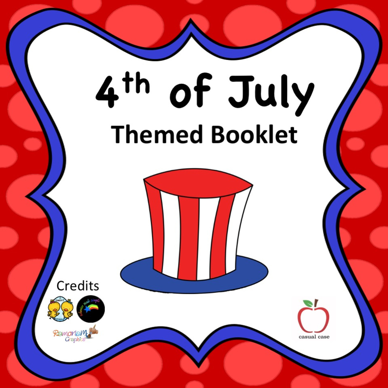 4th of July Activity Booklet