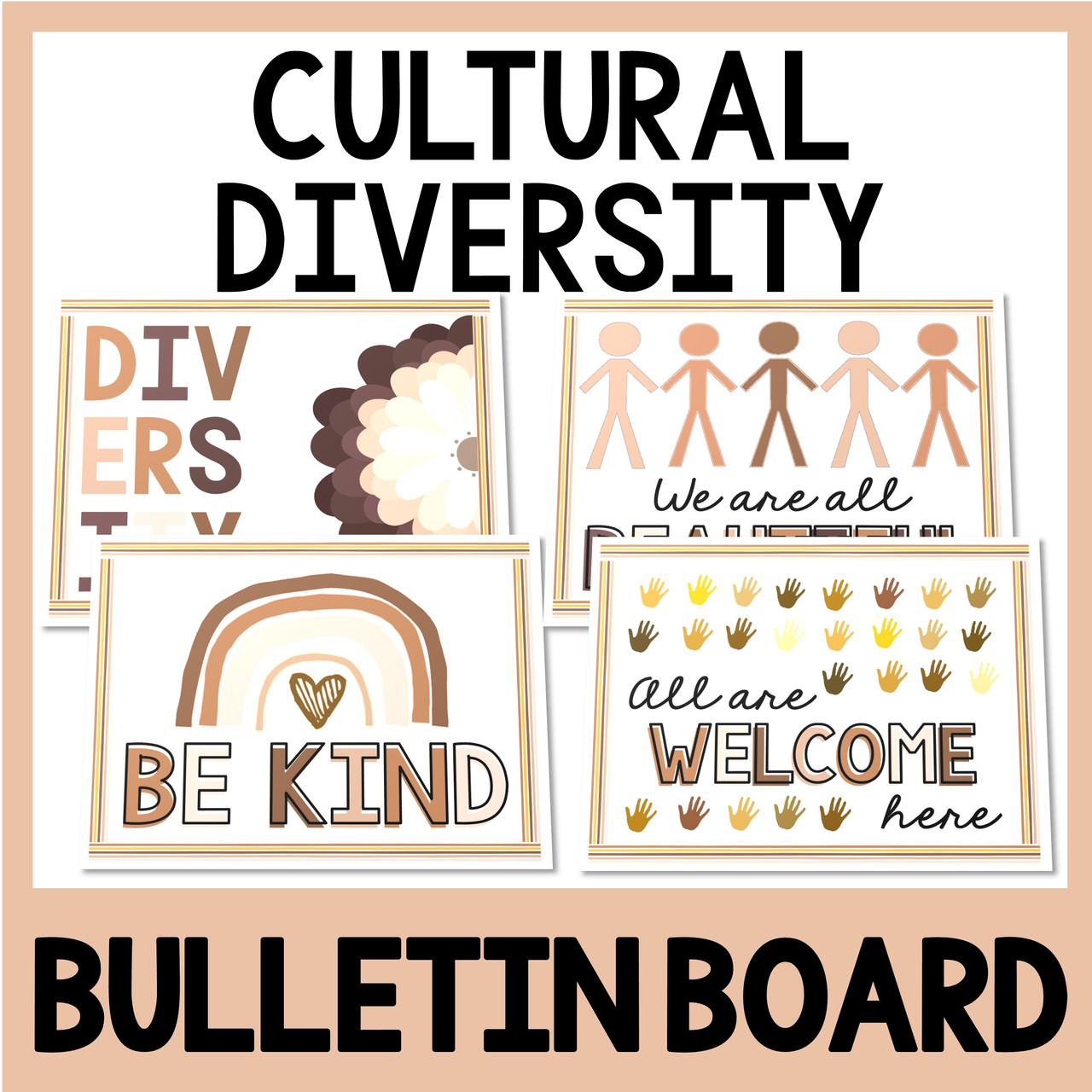 Cultural Diversity Bulletin Board - Posters - Equality