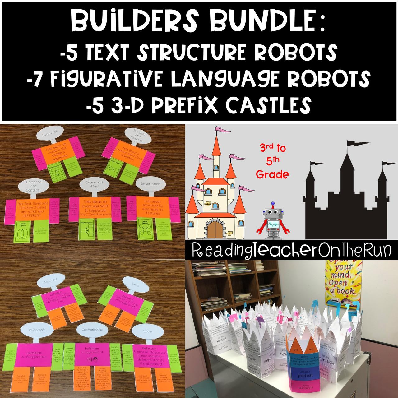 Building 3rd-4th Grade Readers Bundle