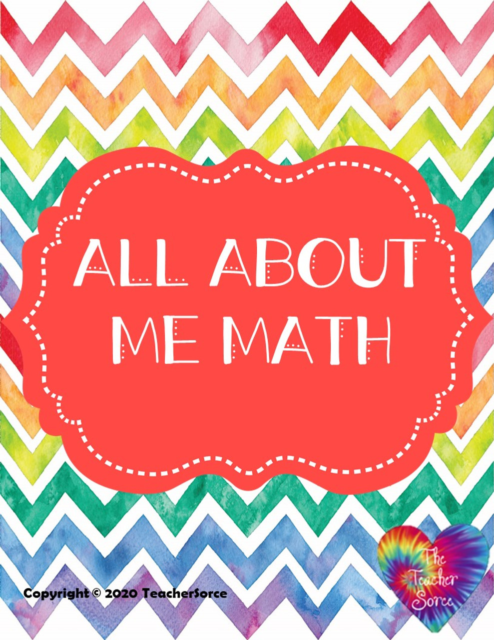 All About Me Math Activity