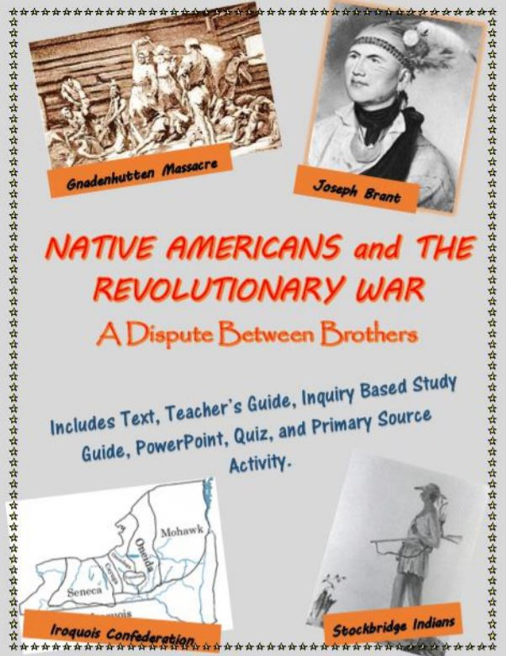 Native Americans and the American Revolution mini-unit, including text