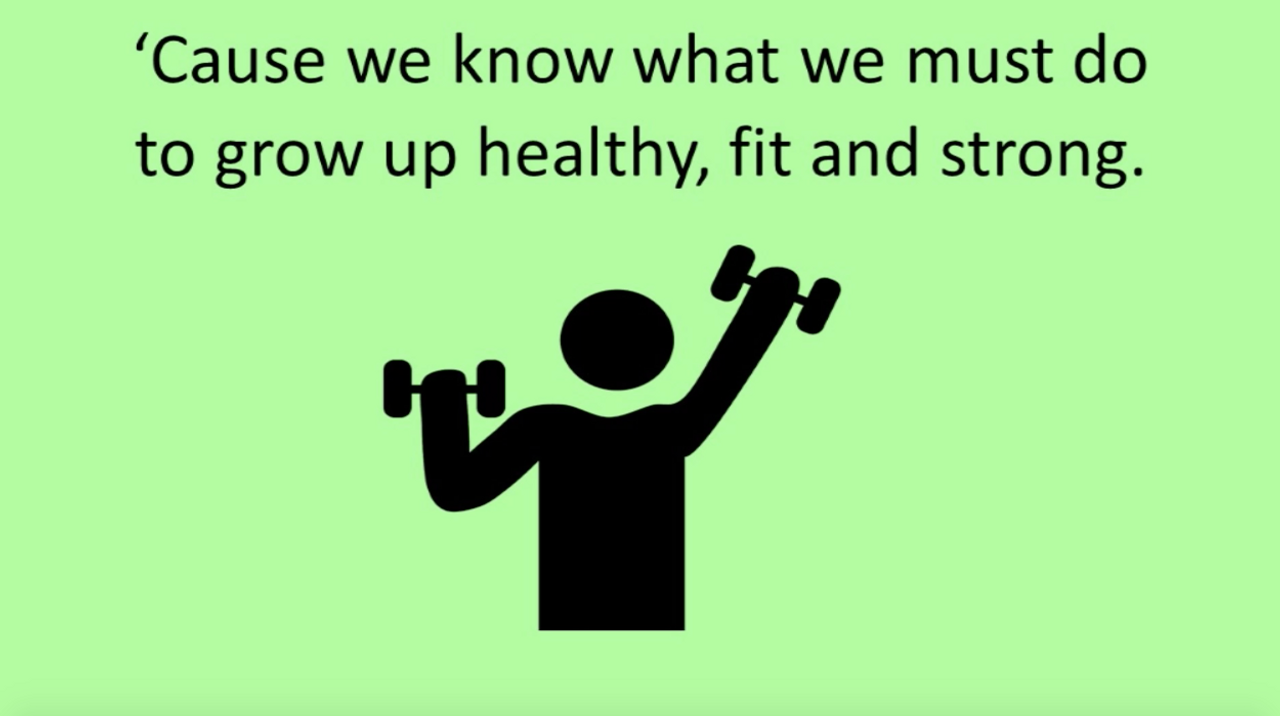 'HEALTHY KIDS' (Grades K-7) ~ Curriculum Song Video