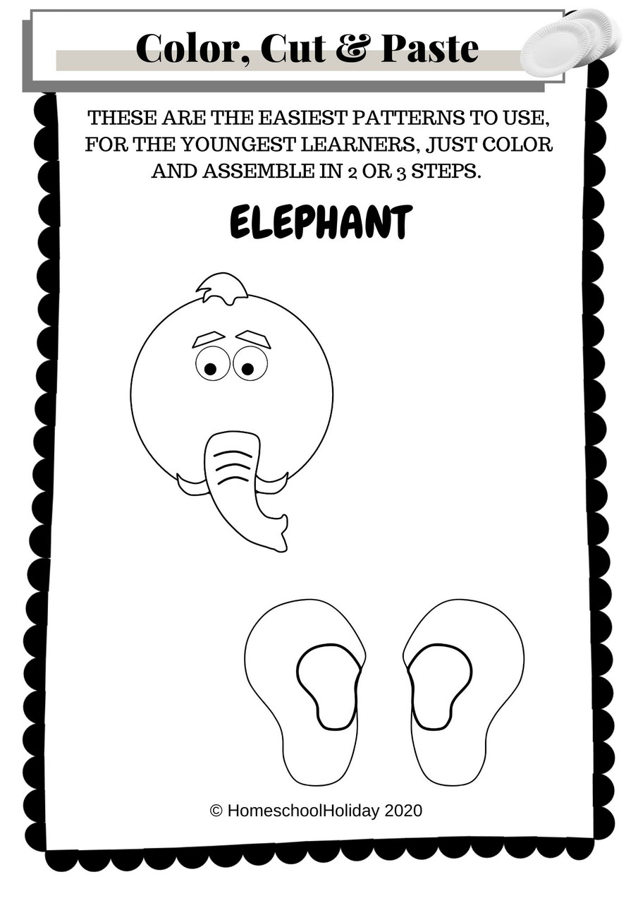 Color your own patterns - easy (Shown here) and advanced